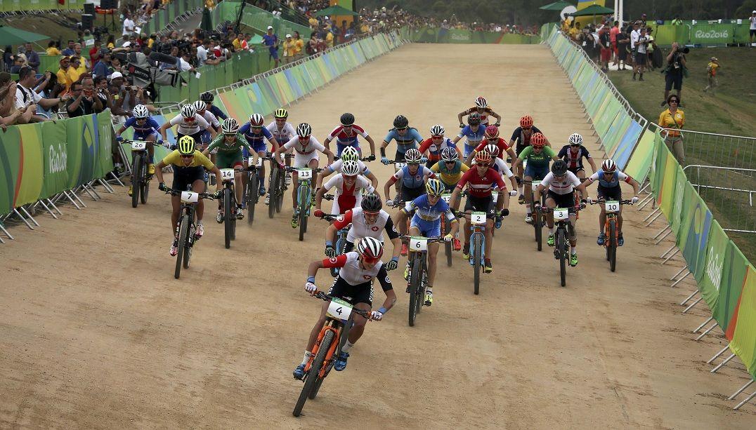 Brasil fica em 20º no ciclismo mountain bike cross-country feminino