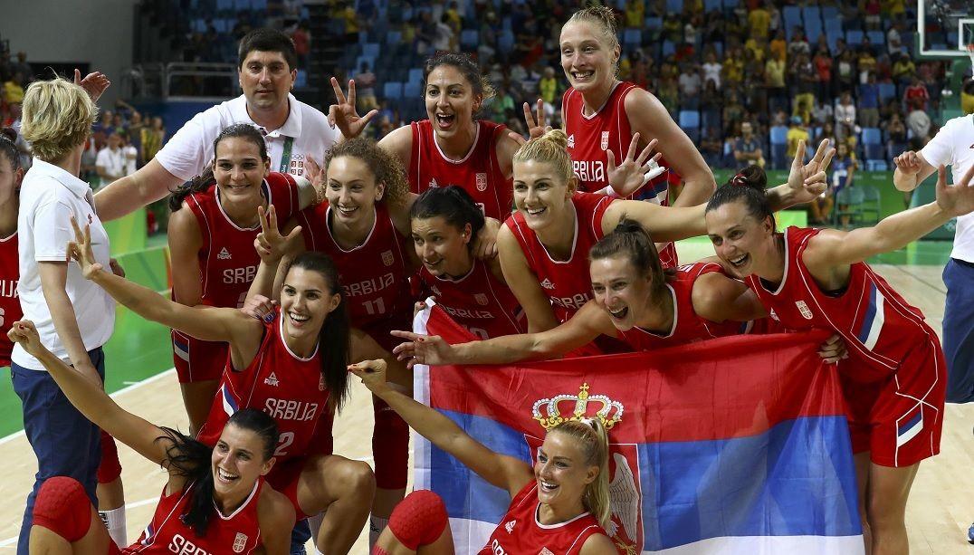 Sérvia derrota França e conquista o bronze no basquete feminino
