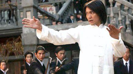 Comedia na base de golpes de kung fu