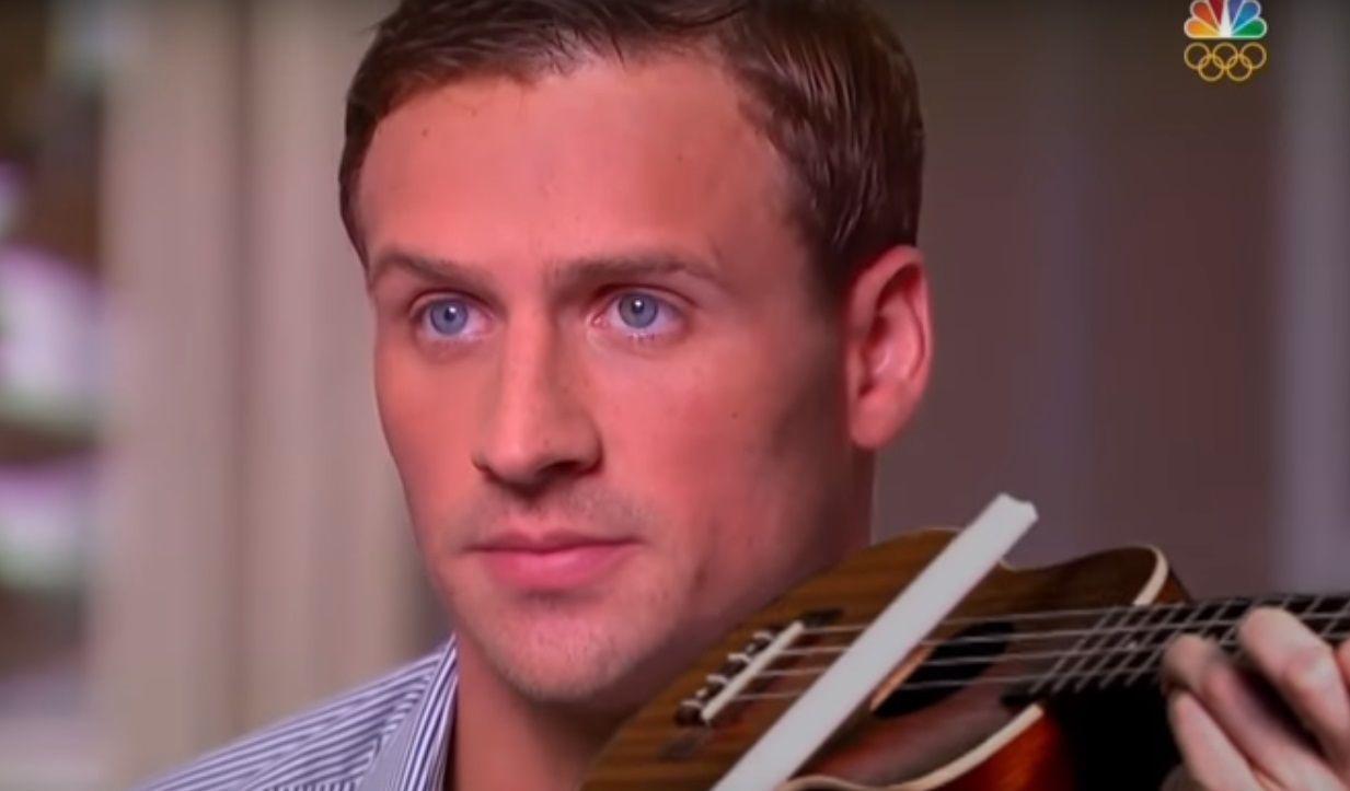 Entrevista de Lochte a TV vira paródia pop; ouça