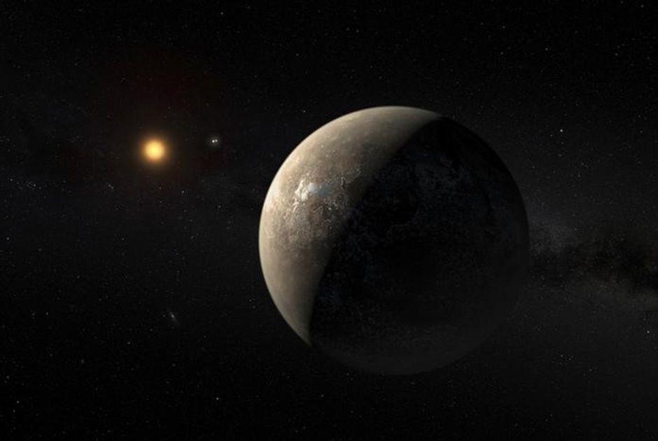 Ilustração de como poderia ser o Proxima b / ESO/M. Kornmesser/Reuters