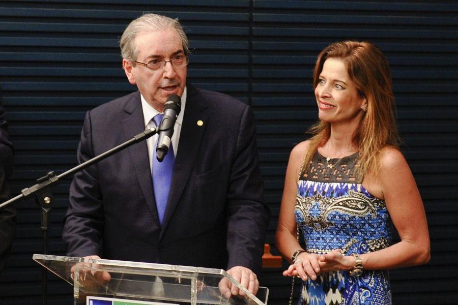 Cláudia Cruz, mulher de Eduardo Cunha, também está sendo investigada na Operação Lava Jato / Marcos Oliveira/Agência Senado