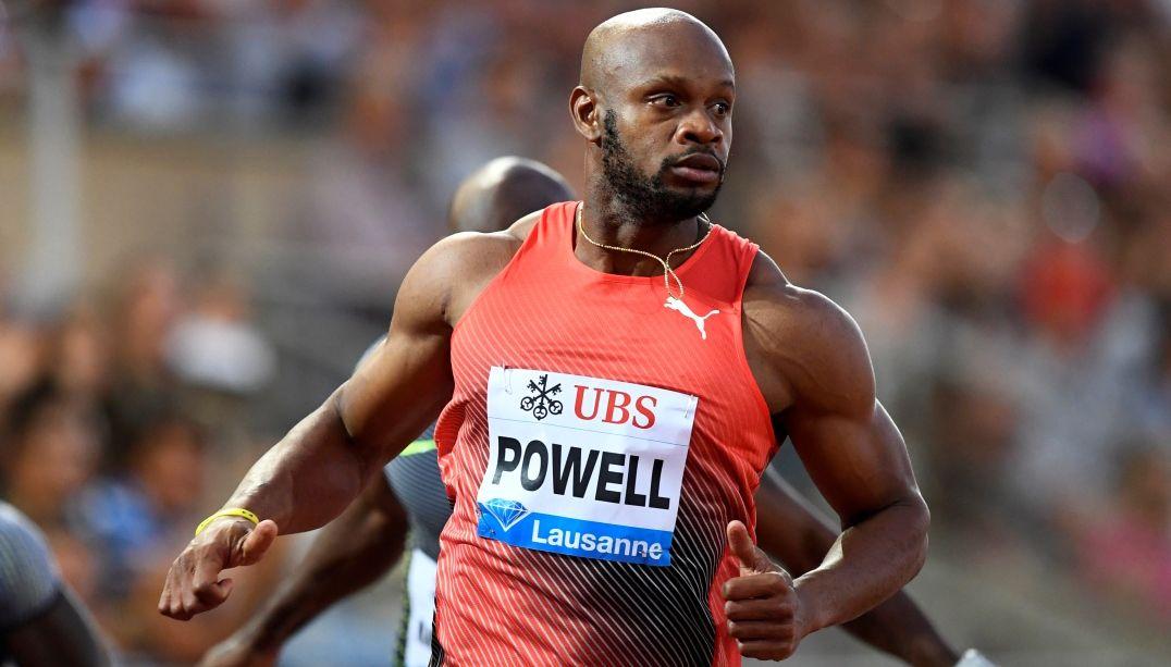 Sem Bolt na disputa, Asafa Powell vence 100m da Diamond League