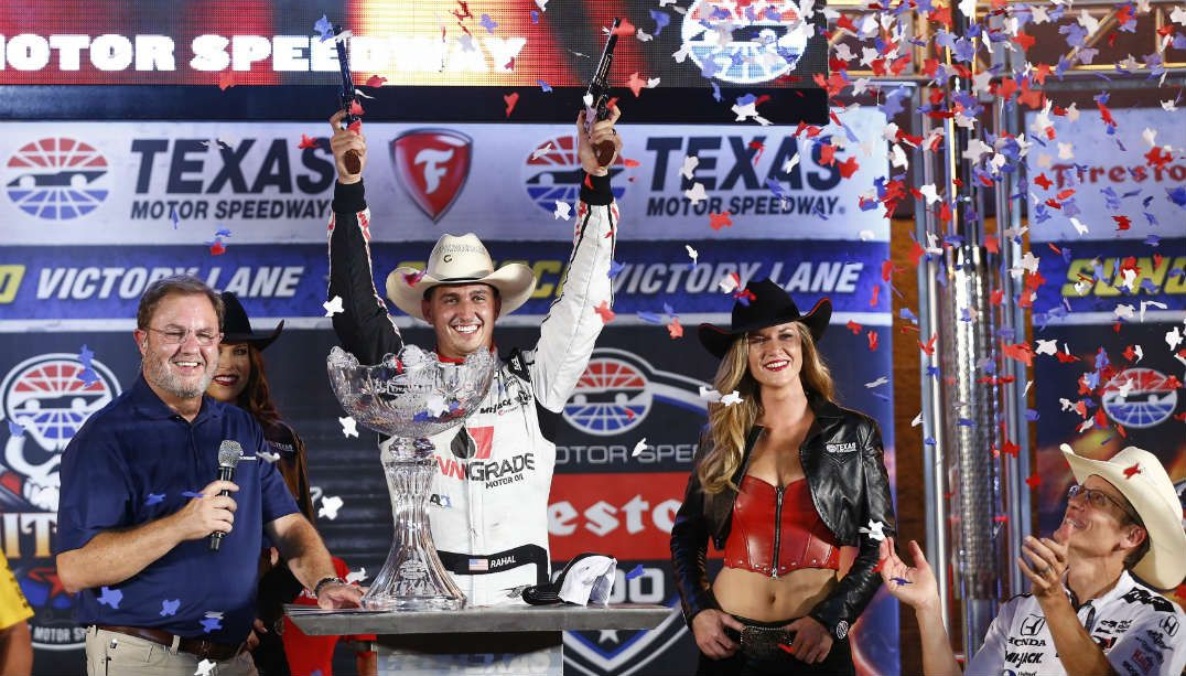 Graham Rahal vence GP do Texas nos metros finais