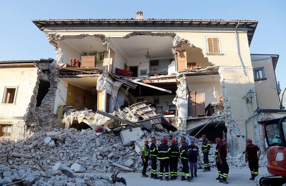 Amatrice denuncia que não recebeu verba pós-terremoto