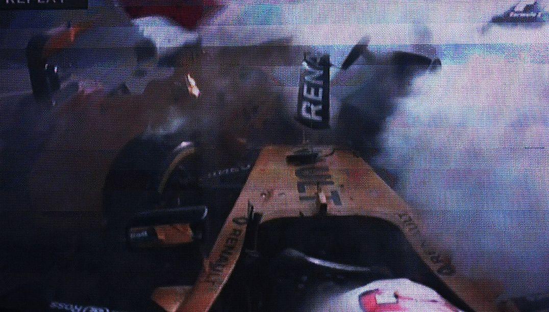 Após acidente no GP da Bélgica, Magnussen é levado ao hospital