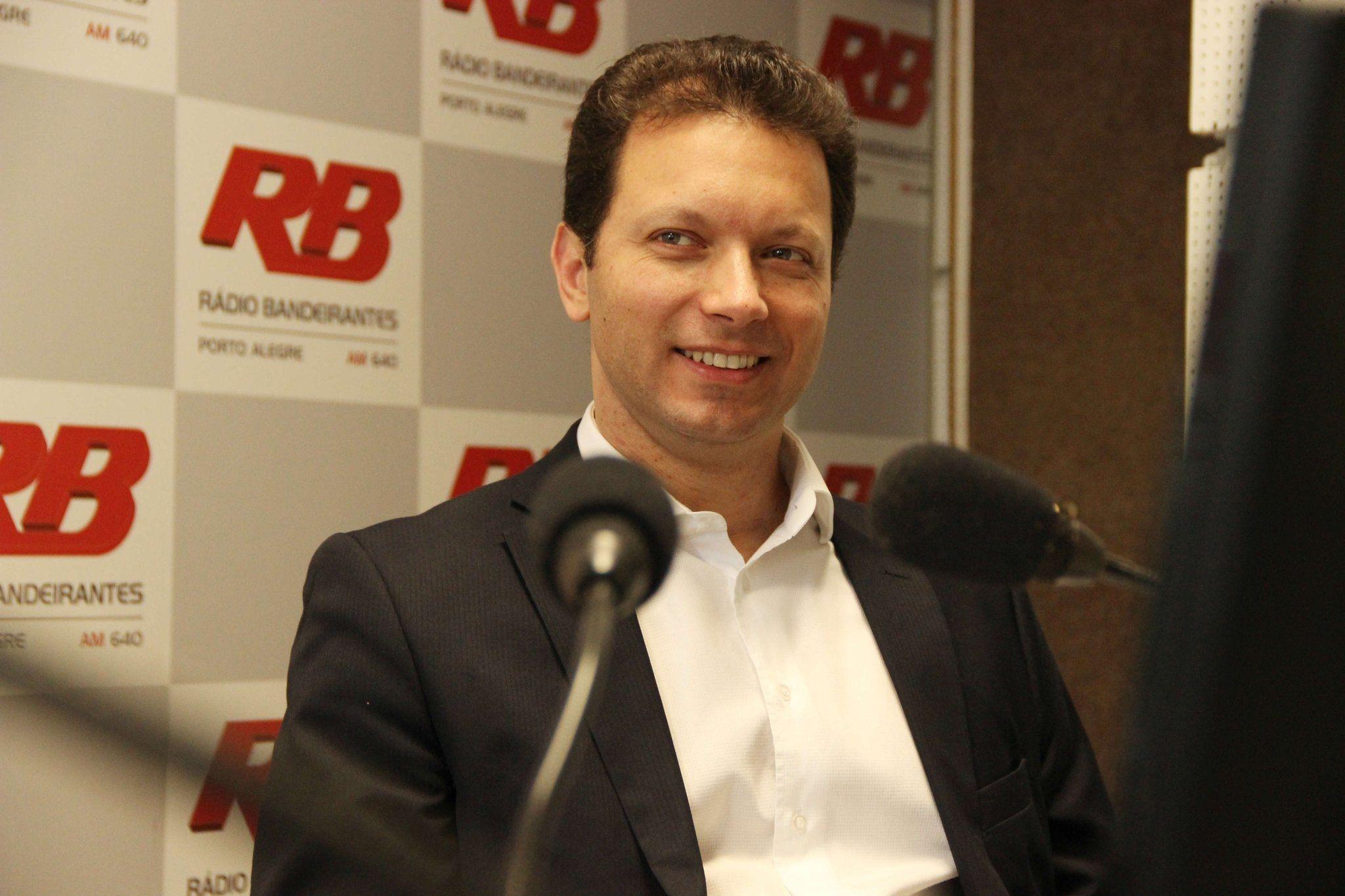 Nelson Marchezan Júnior foi entrevistado pela bancada do Jornal Gente / Laísa Mendes/Band