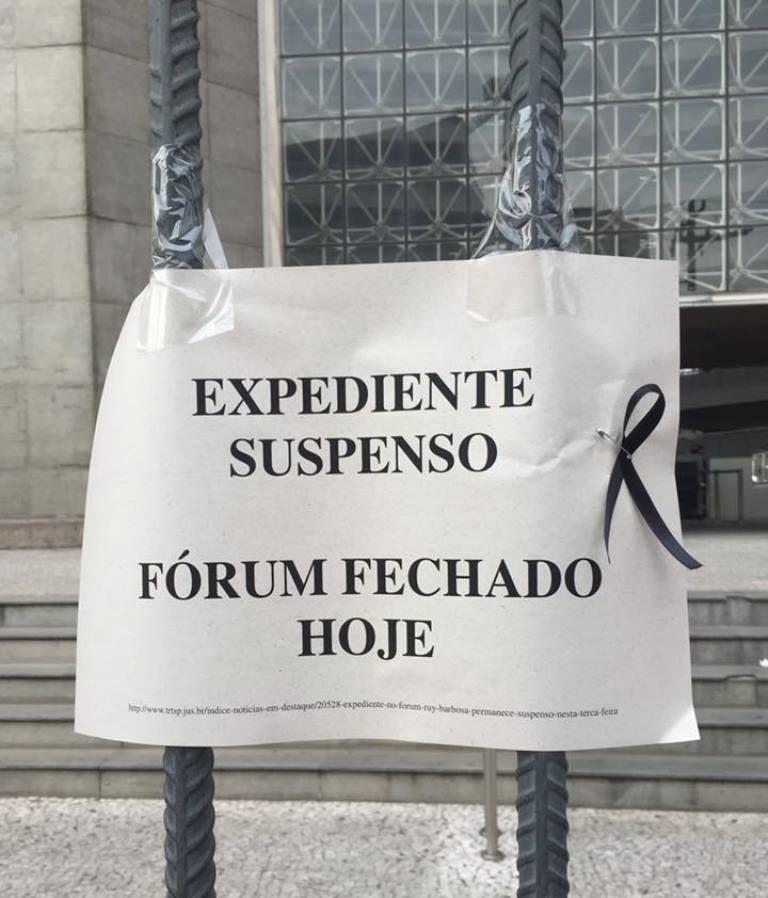 SP: em carta, advogados cobram medidas de segurança em fórum