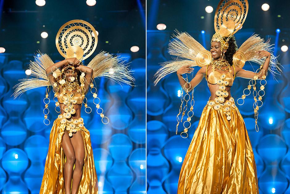 Miss Tocantin, Wize Martins, é a deusa do Jalapão e enaltece o brilho intenso do capim dourado