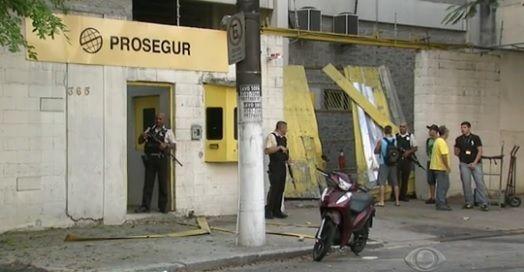 Polícia prende mais três por assalto à transportadora de valores