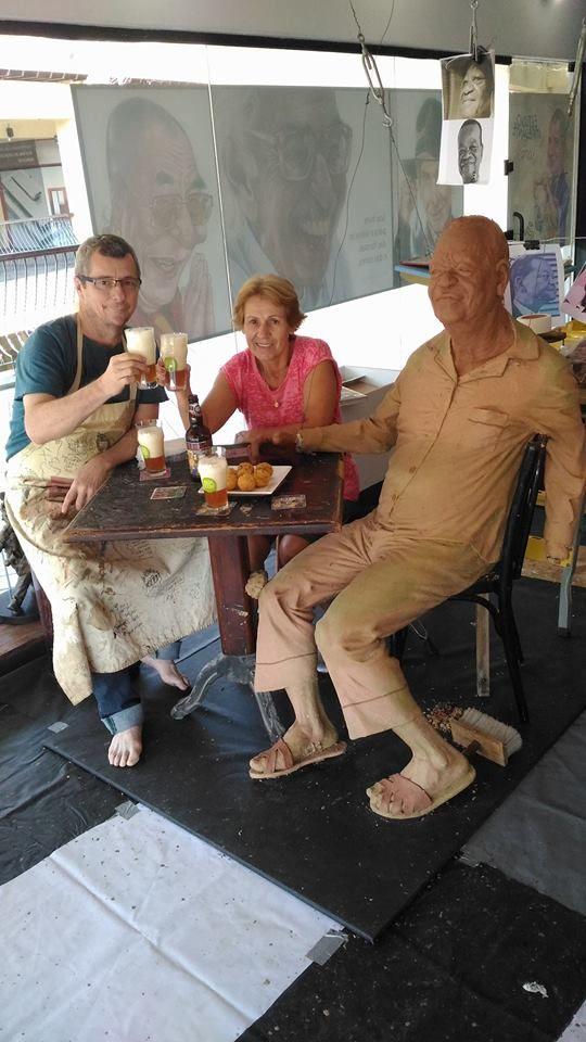 De pijama, Pixinguinha ganhará estátua em bar que frequentava no Rio