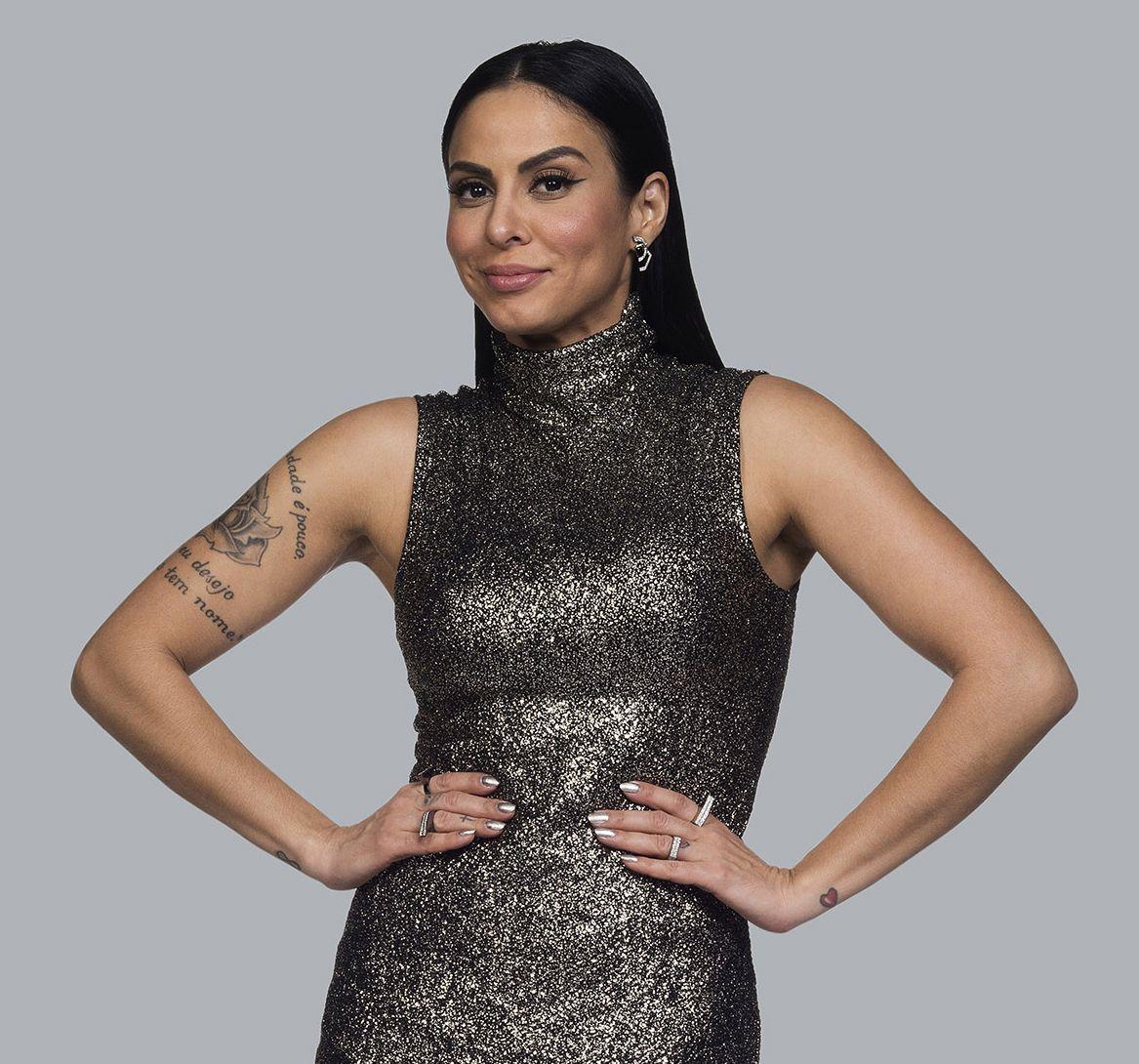 Alinne Rosa é jurada no talent-show / Divulgação - Band