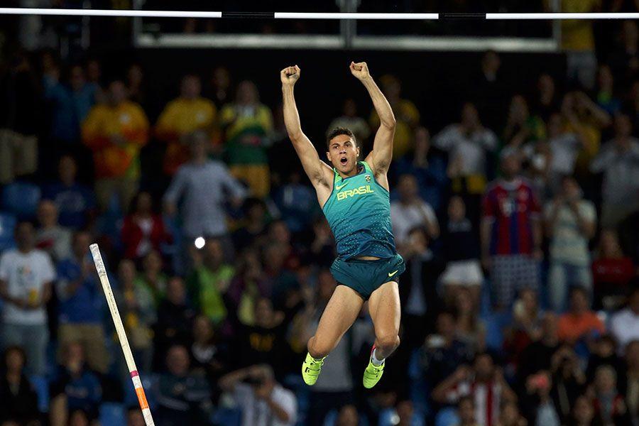 Thiago Braz está fora da disputa do prêmio de Atleta do Ano da IAAF