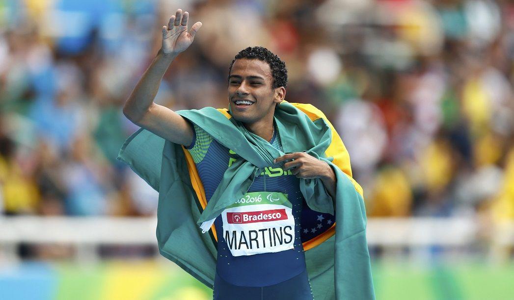 Daniel Martins dá 3º ouro ao Brasil na Paraolimpíada
