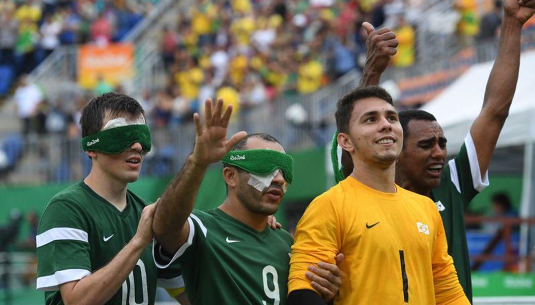 Brasil vence Marrocos na estreia do futebol de 5