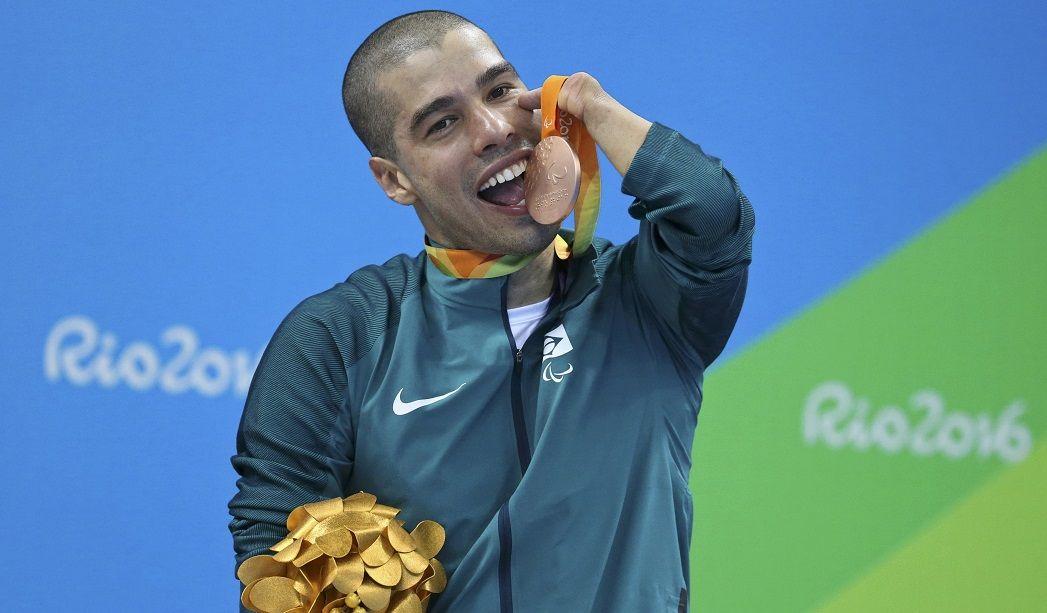 Daniel Dias ganha 3ª medalha no Rio 2016 e 18ª em Paraolimpíadas