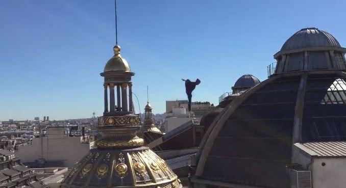 Vídeo mostra Paris a partir dos telhados de ardósia