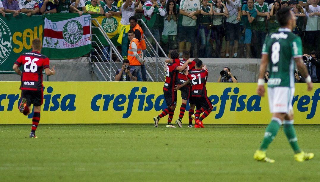 Palmeiras é denunciado no STJD no jogo contra o Flamengo