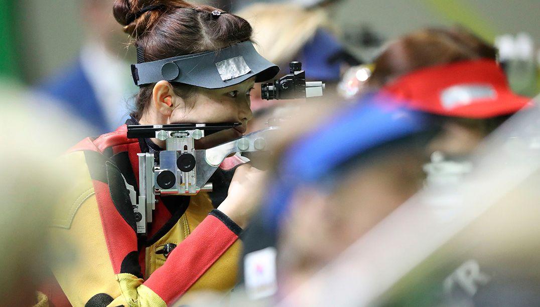 Tiro esportivo tem protagonismo das mulheres na Paraolimpíada do Rio