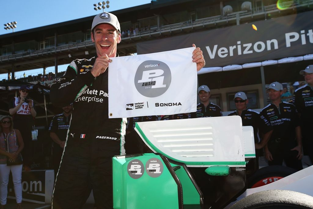 Líder, Pagenaud bate Castroneves e faz a pole da prova final da Indy