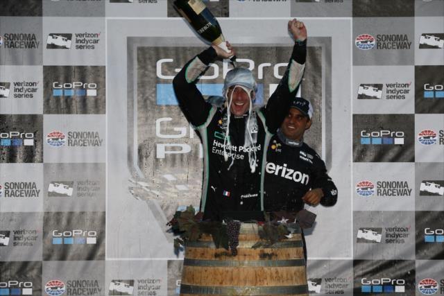 Pagenaud é o primeiro francês a vencer a Indy