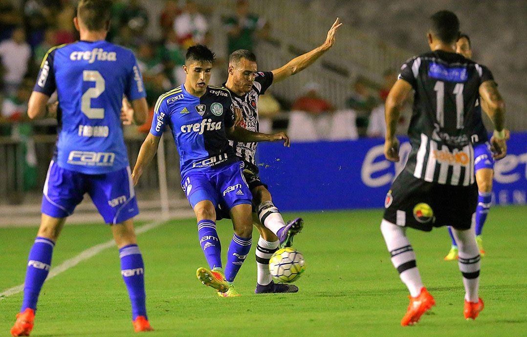 Palmeiras perde, mas garante vaga na Copa do Brasil