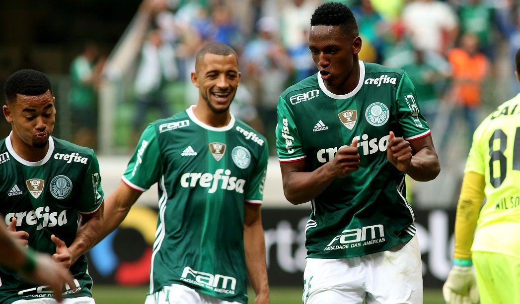 Apesar de assédio, cartola do Palmeiras garante Mina em 2017