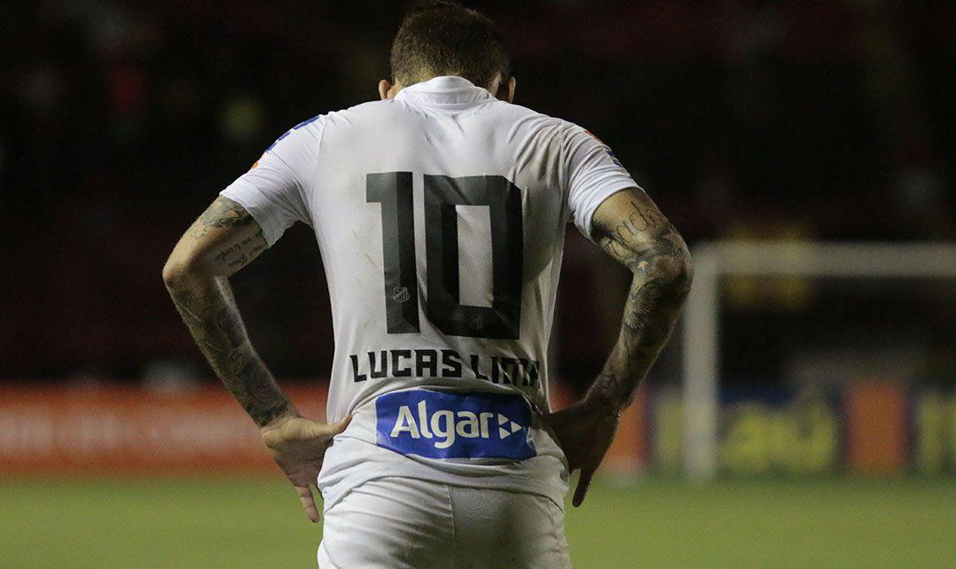 Lucas Lima minimiza derrota do Santos na Ilha do Retiro