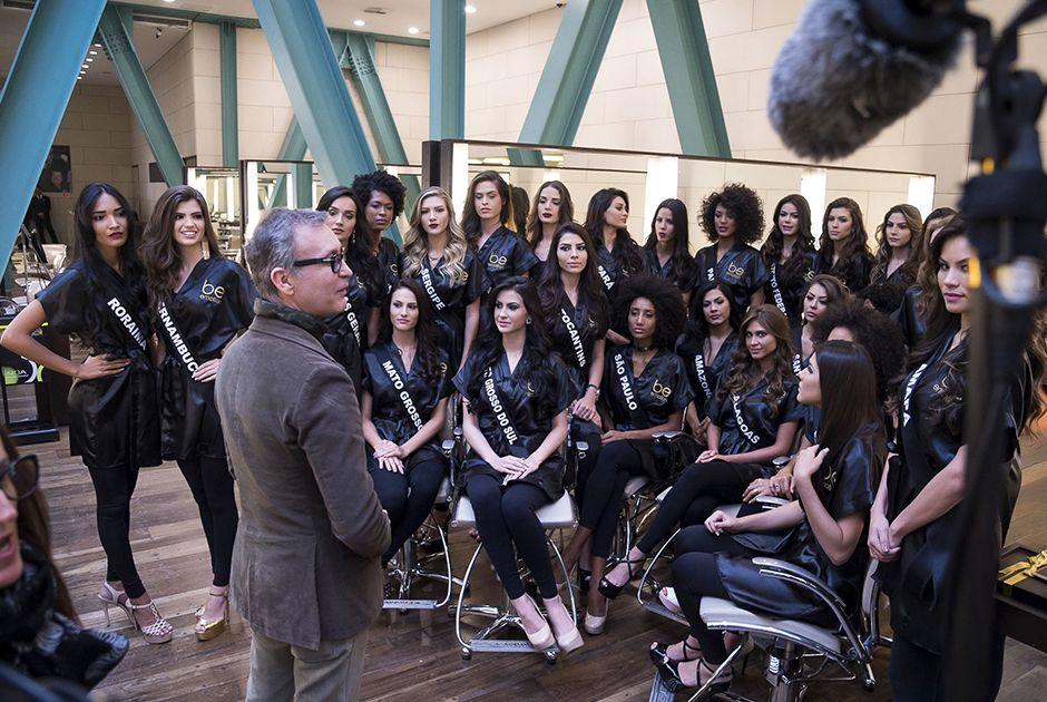 Misses participam de desafio de maquiagem BE Emotion