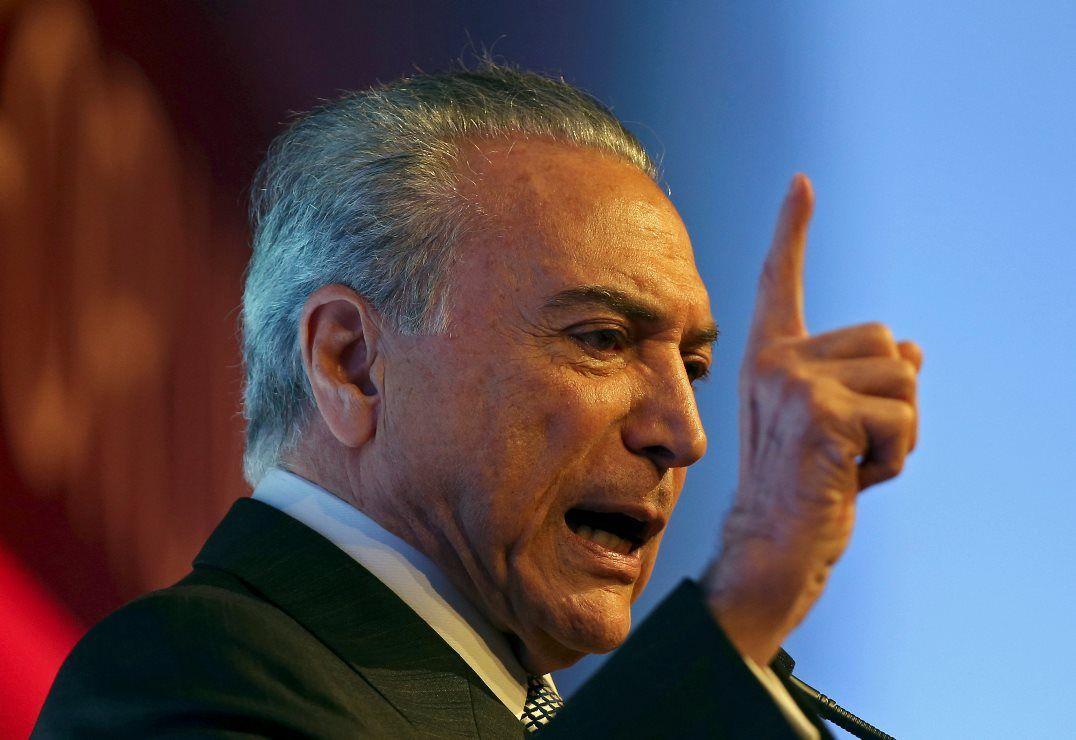 Temer pediu bênção ao seu mandato e ao seu projeto para atender às necessidades do povo / Paulo Whitaker/Reuters