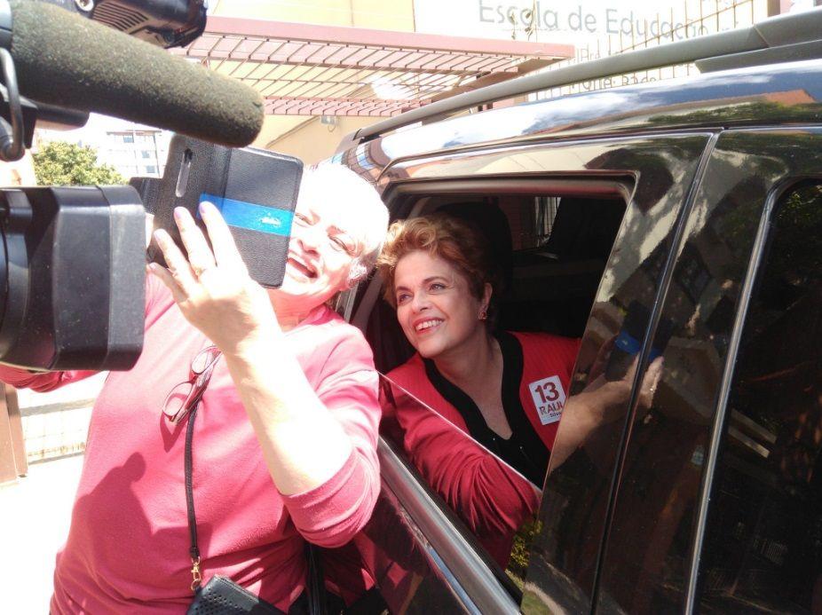 Dilma Rousseff deu palestra em evento do sindicato de arquitetos e urbanistas / Noele Scur/Band
