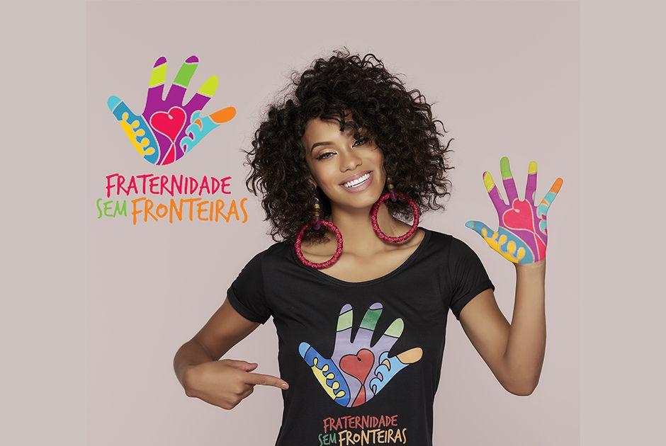 Raissa Santana apoia a campanha Fraternidade sem Fronteiras