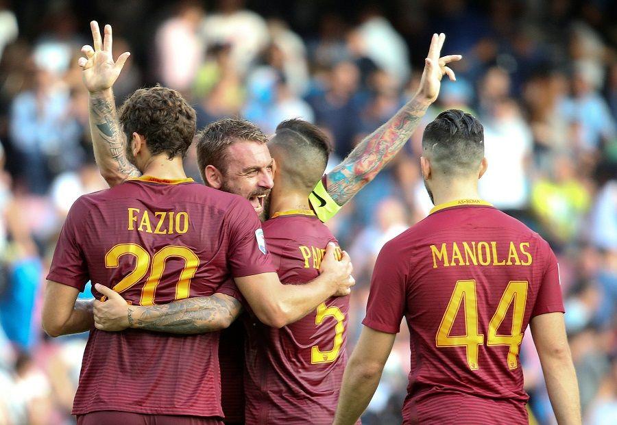 Roma vence Napoli e assume a vice-liderança do Italiano