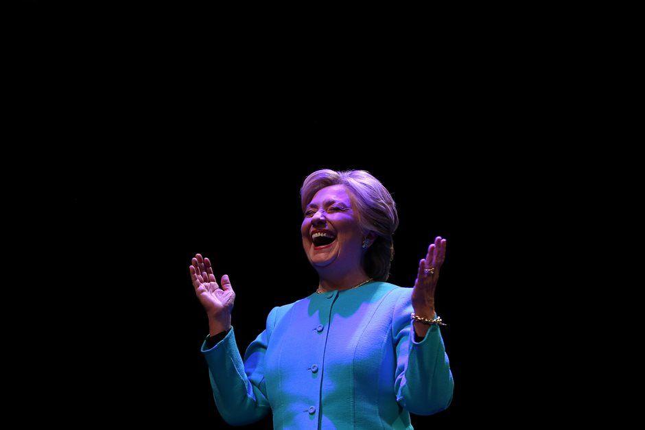 Ousada: a democrata Hillary Clinton tenta avançar agora em estados tradicionalmente republicanos / Lucy Nicholson/Reuters