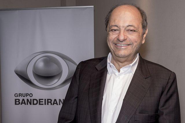 Paulo Saad, vice-presidente do Grupo Bandeirantes