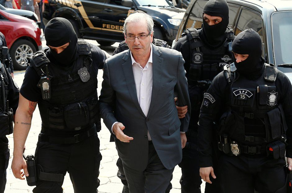 Ministro do STF nega pedido para soltar Eduardo Cunha