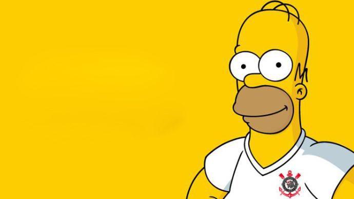 Os Simpsons torcem pelo Corinthians