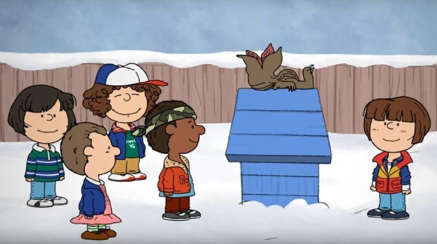 Stranger Things ganha versão como a turma do Charlie Brown