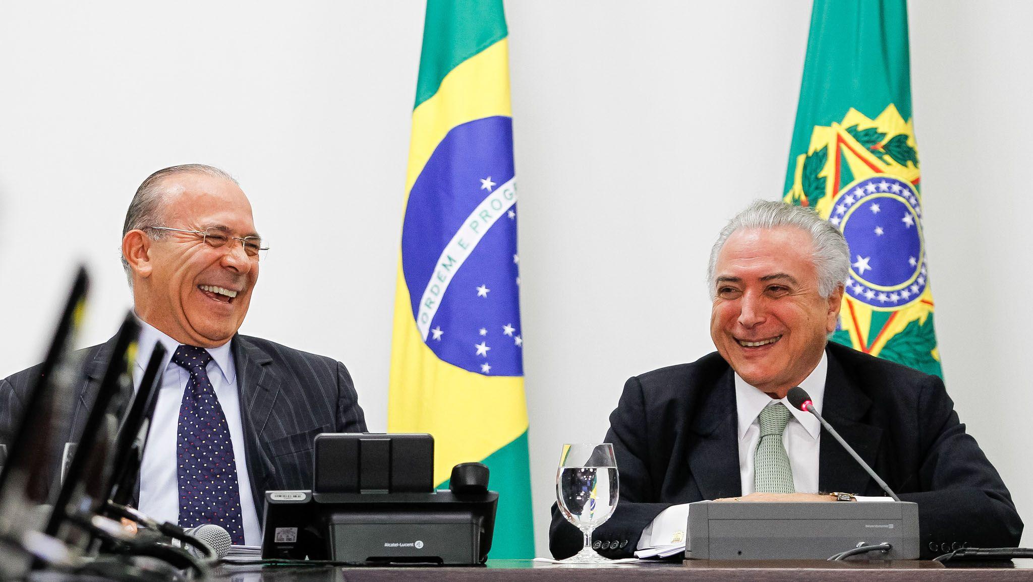 Nome de Eliseu Padilha, ministro da Casa Civil do governo Temer, aparece na lista / Beto Barata/PR