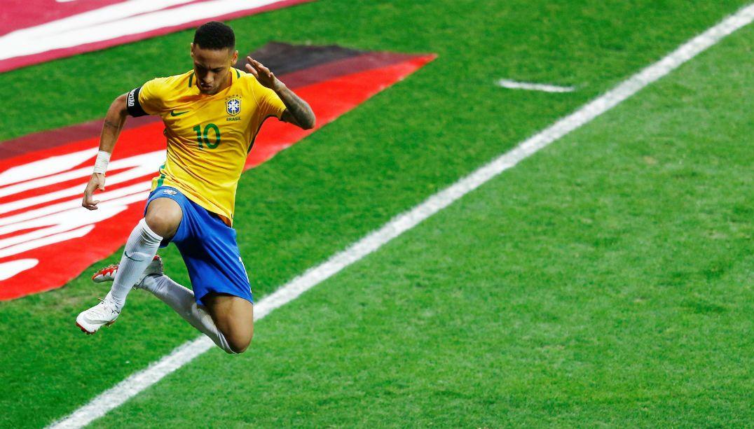 Gol contra a Argentina foi o de número 50 de Neymar com a camisa da seleção 1ce97d486774e
