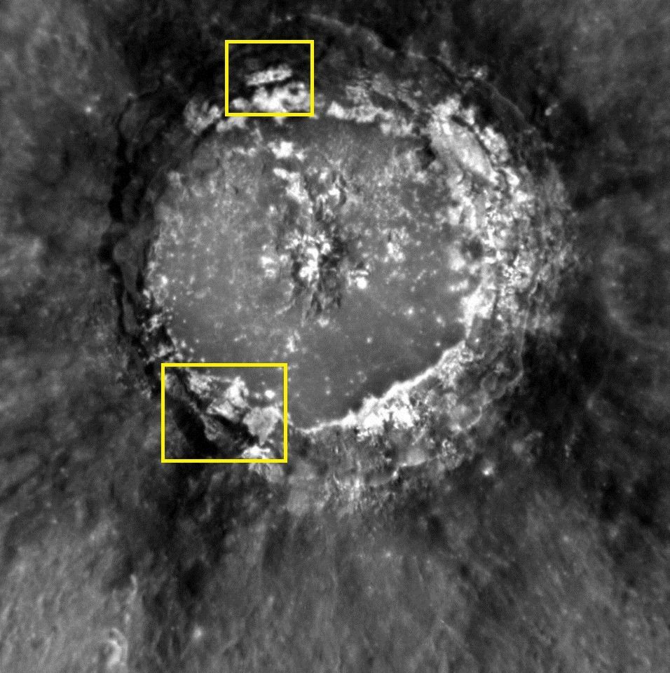 Base alienígena é supostamente vista em Mercúrio