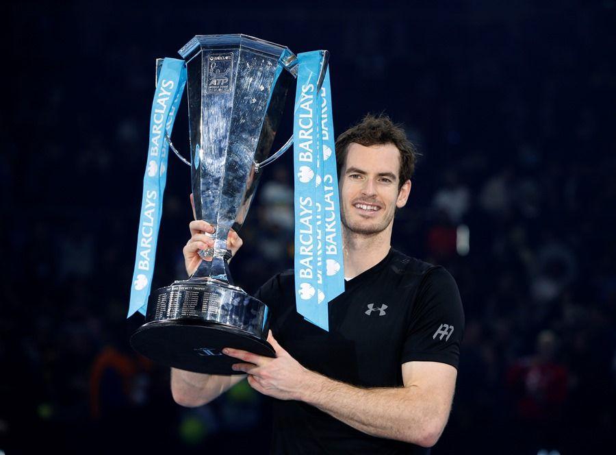 Murray fatura 1º título do ATP Finals e garante liderança do ranking