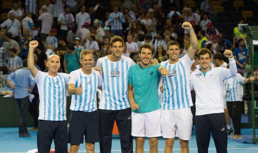 Após 4 vices, Argentina tenta encerrar jejum na Copa Davis