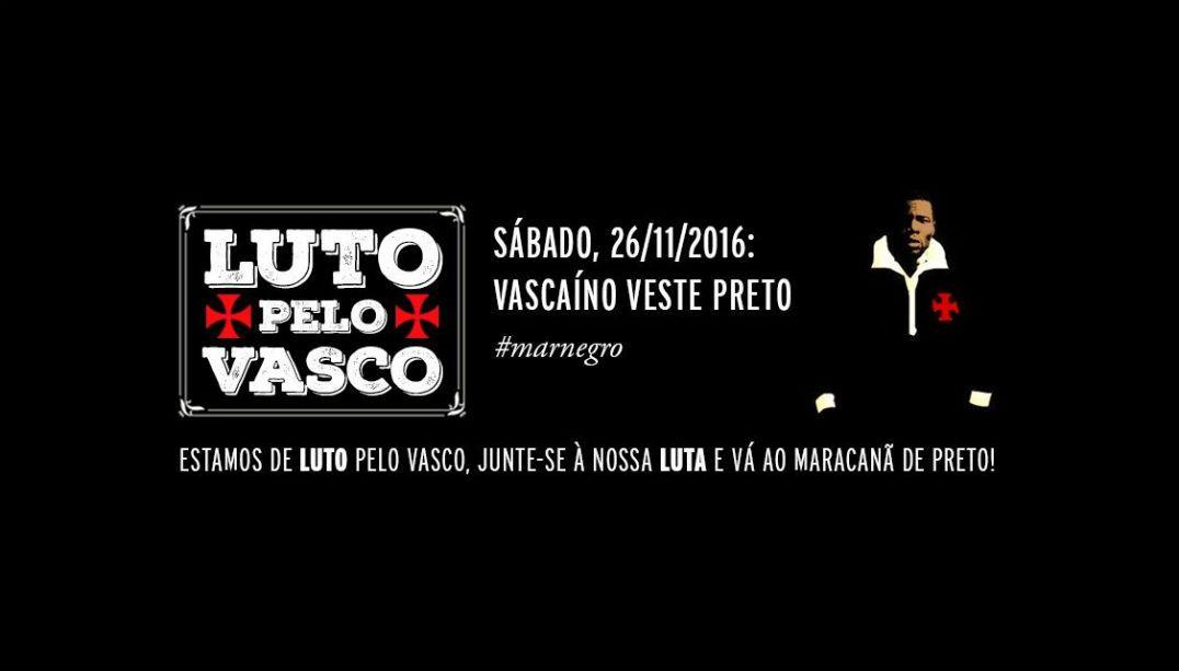 Torcida do Vasco protestará contra Eurico no Maracanã