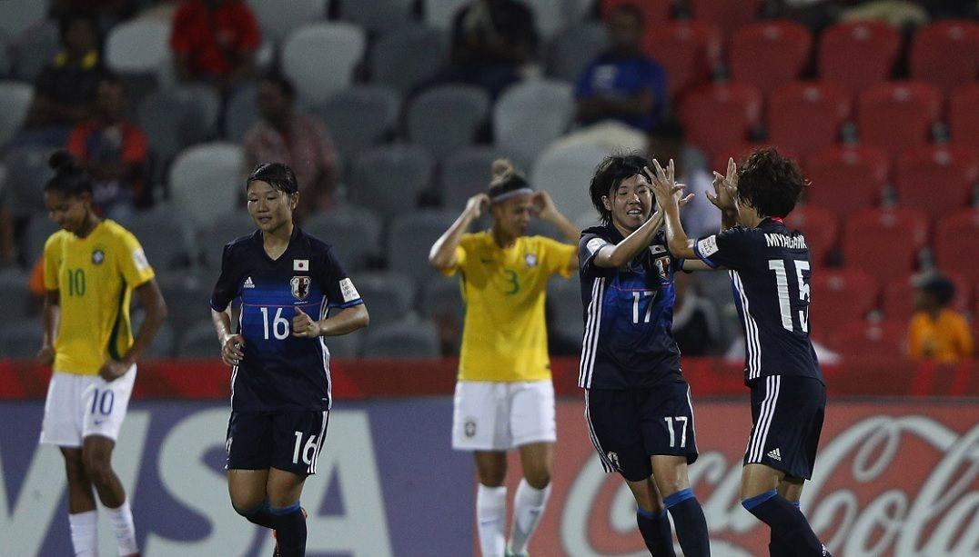 Brasil é dominado pelo Japão e cai na Copa do Mundo sub-20