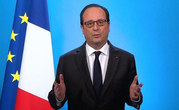 Hollande prometeu determinação para lutar contra o terrorismo / Reuters