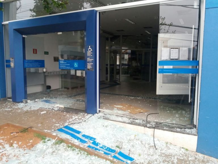 Polícia investiga golpe aplicado contra bancos