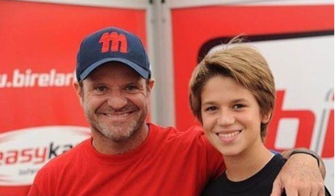 Rubens Barrichello e filho vão correr juntos 500 Milhas de Kart