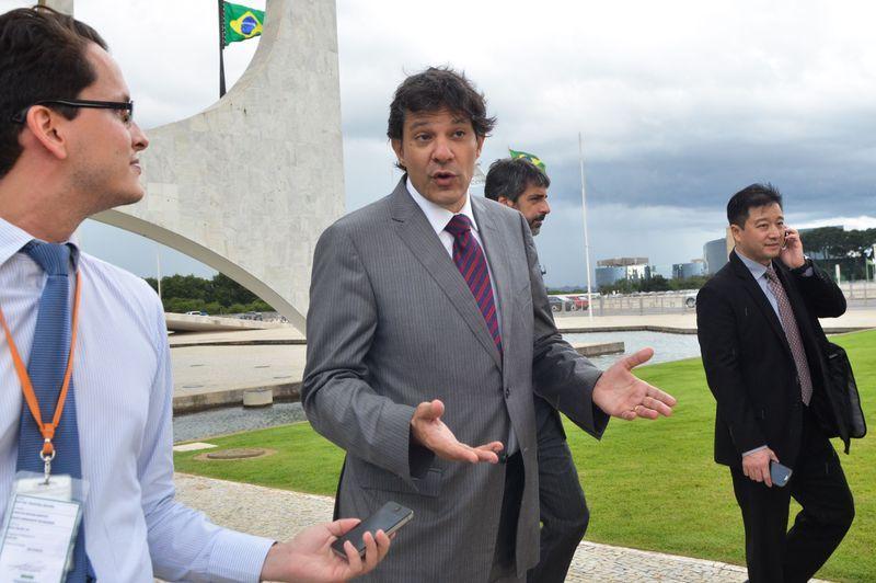 Segundo assessoria, o ex-prefeito recusa o papel de plano B / José Cruz/Agência Brasil