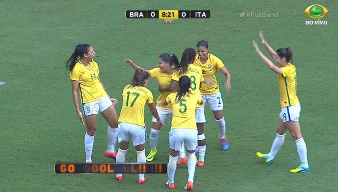 Brasil é campeão da Copa Caixa na despedida de Formiga - Band.com.br 75930c06a9d88